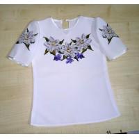 Пошита дитяча блузка № 01