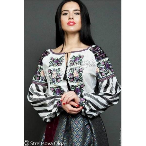 Заготовка жіночої вишиванки СЖ VK-8 під вишивку бісером чи нитками ... 9a55d18670de1